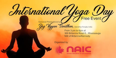 International Yoga Day tickets