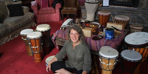 Presence and Self-Compassion Retreat for Therapists, Educators and Caregivers: Mindful Drumming, Photography and Meditation