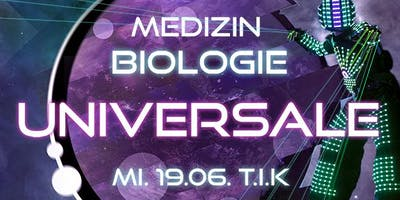Universale @ T.I.K // 3 Floors, XL Robot & Neondance
