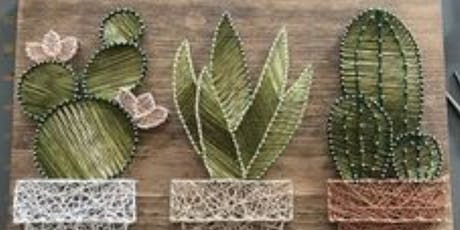 Cactus String Art tickets