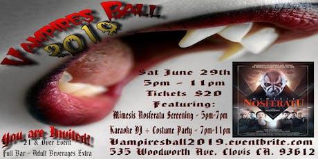 Vampires Ball 2019 tickets