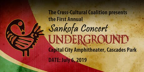 """FIRST ANNUAL SANKOFA CONCERT, """"UNDERGROUND"""" by Akil DuPont tickets"""