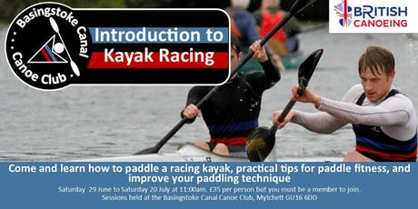 BCCC Introduction to Kayak Racing tickets