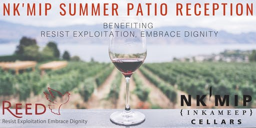 Nk'Mip Summer Patio Reception Benefiting REED
