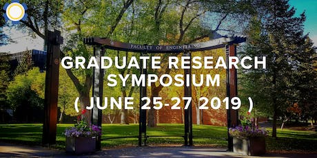 Faculty of Engineering Graduate Research Symposium 2019 tickets