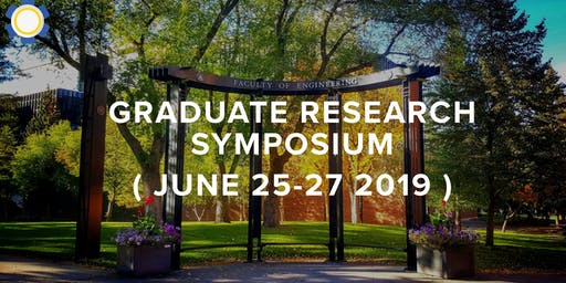 Faculty of Engineering Graduate Research Symposium 2019