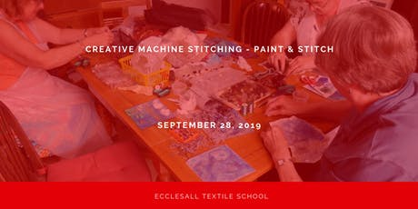 Creative Machine Stitch - Paint & Stitch tickets