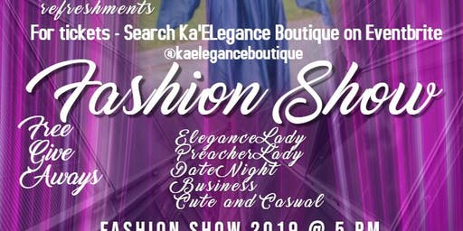 Ka'ELegance Boutique Fashion Show