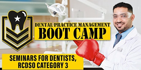 Dental Tax and Legal Management-BOOTCAMP-RCDSO CE Credits-Friday February 7, 2020 tickets