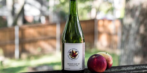 Taste With the Cider Maker: Redbyrd Orchard Cider featuring Celeste Sur Lie