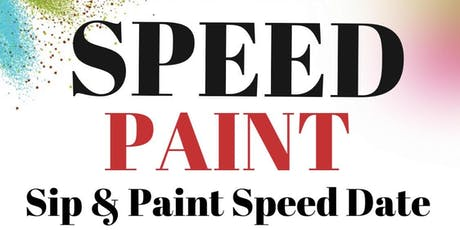 Speed Paint: A Sip & Paint Speed Dating Event tickets