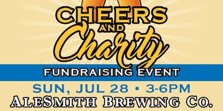 Cheers and Charity Fundraising Party at AleSmith Brewery tickets
