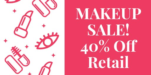 Rooftop Makeup Pop Up Shop [Everything 40% Off Retail]