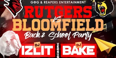 Dj Bake vs Dj Izlit The RU Vs BC: Back To School Party