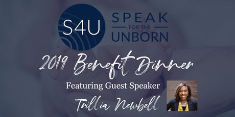 Speak for the Unborn Benefit Dinner 2019 tickets
