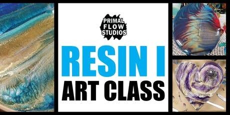 Resin Epoxy Art Class I tickets