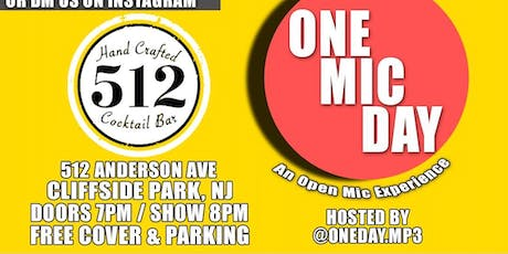 One Mic Day tickets