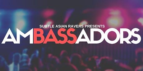 Subtle Asian Ravers presents: AMBASSADORS tickets