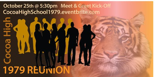 Cocoa High Class of 1979 Reunion Kick-off