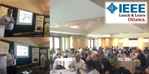 """IEEE Ottawa Lunch and Learn Presents: """"Status of the Internet in Canada and Canadian IXP's"""" by Jacques Latour, CTO of CIRA/.CA"""