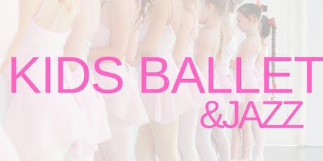 Ballet/Jazz Class For Kids tickets