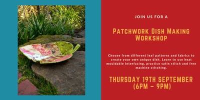 Patchwork Leaf Bowl Making Workshop