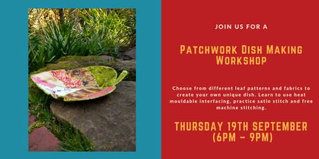 Patchwork Leaf Bowl Making Workshop  tickets