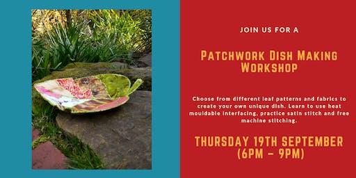 Patchwork Leaf Bowl Making Workshop