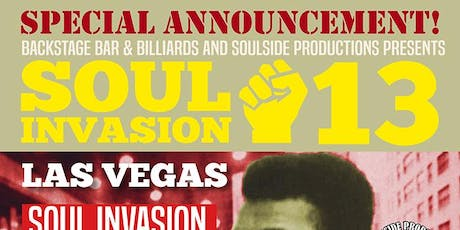 Soul Invasion Weekeder + Holiday Weekender + Value Pass tickets