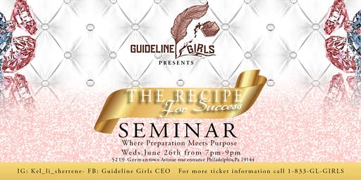 The Recipe For Success Seminar