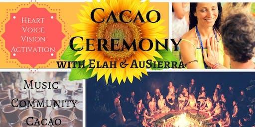 Cacao Ceremony with Elah & AuSierra - Berlin