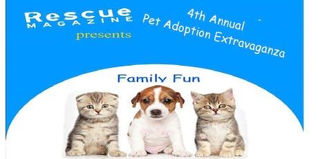 4th Annual Pet Adoption Extravaganza tickets