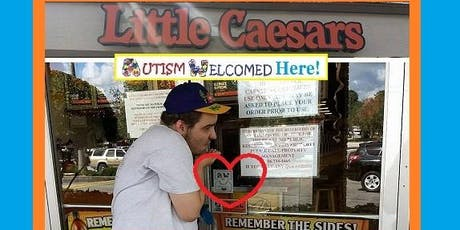 """Autism Welcomed Symbol """"Show ME Your Pizza Smile!"""" tickets"""
