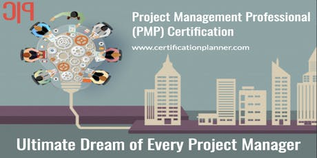 Project Management Professional (PMP) Course in Montreal (2019) billets