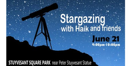 Stargazing with Haik and Friends tickets