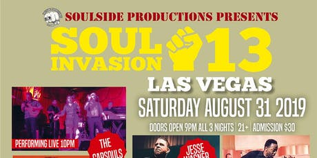 Soul Invasion Weekender + Vernon Maytone + Greg Lee ( Hep Cat) + Capsouls tickets