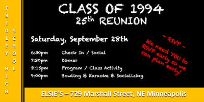 FHS CLASS OF 1994 REUNION