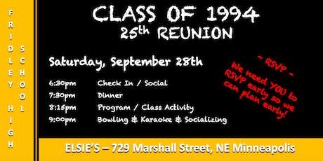 FHS CLASS OF 1994 REUNION tickets