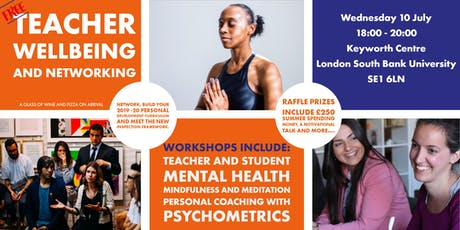 Teacher Wellbeing and Networking tickets