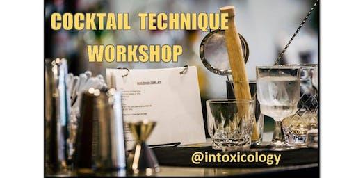Cocktail Technique Workshop-SOLD OUT-