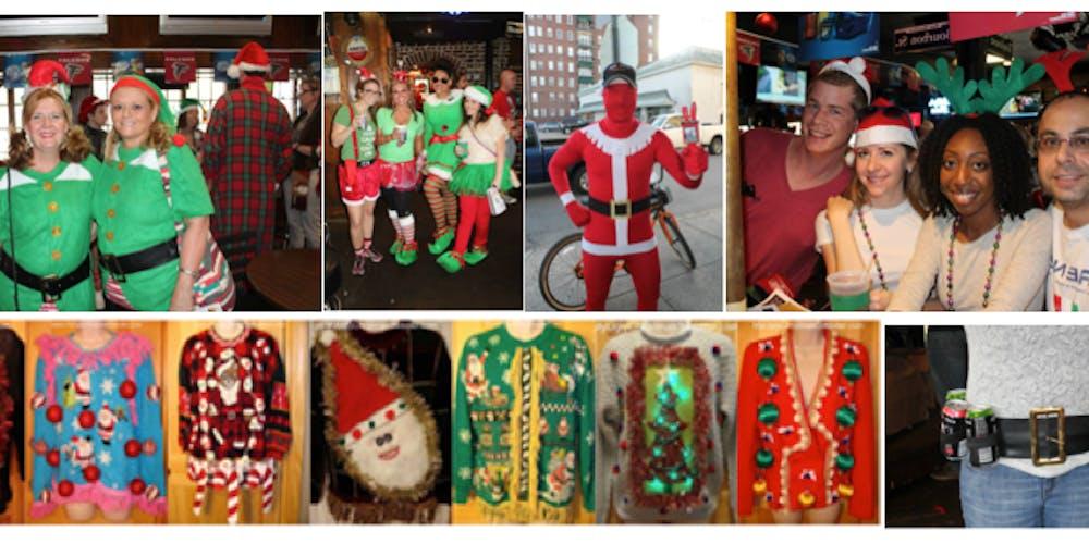Christmas In Savannah Georgia 2019.The Twelve Bars Of Christmas 5k Holiday Themed Bar Crawl