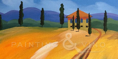 """Road to a Tuscan Villa"" Painting & Vino Class tickets"