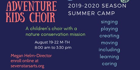 Adventure Kids Choir Camp tickets