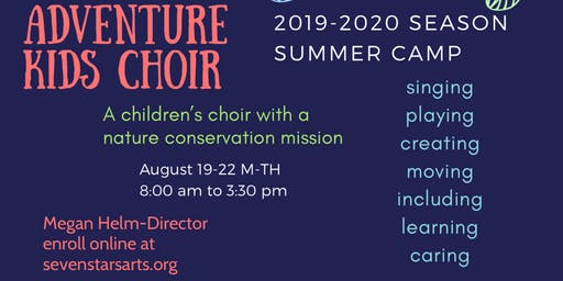 Adventure Kids Choir Camp