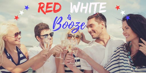 Red, White, & Booze Cruise | 4th of July Yacht Party