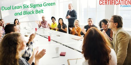 Dual Lean Six Sigma Green and Black Belt with CP/IASSC Exam,Charlottesville tickets
