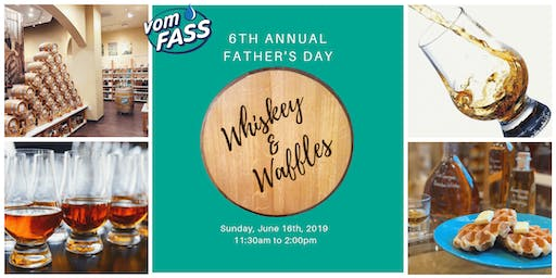 6th Annual Father's Day Whiskey & Waffles