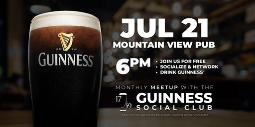 Guinness Monthly Social - Mountain View Pub