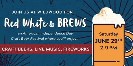 Red, White and BREWS Festival tickets