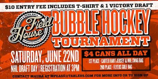 Bubble Hockey Tournament